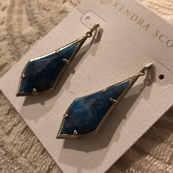 f1d399191cd5f Kendra Scott Limited Olivia Aqua Apatite Earrings